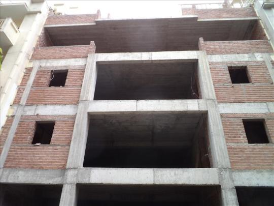 Unfinished Building 1614sqm, in the Center of Athens. Suitable for Hotel or Hospital bussiness.